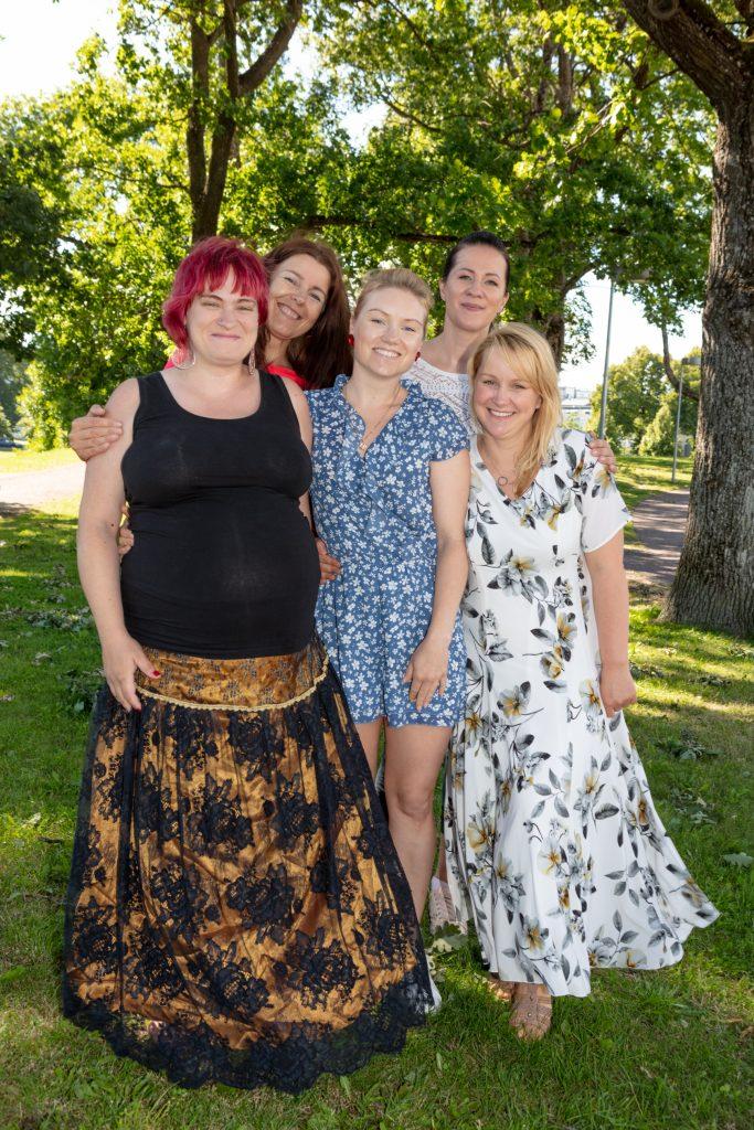 Pärnu klubi liikmed suvel