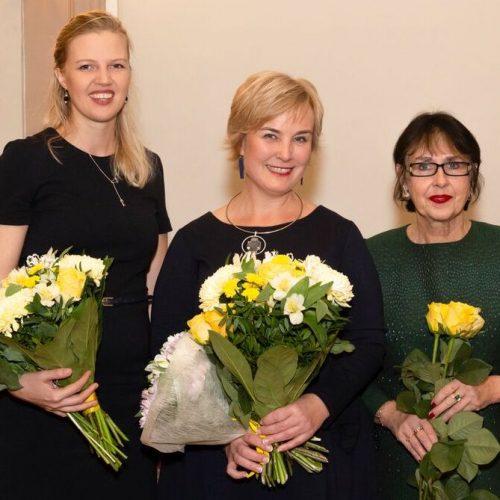, noor naisettevõtja 2018 Ann Runnel, aasta naine 2018 Eva Truuverk, aasta naise nominent Sirje Helme