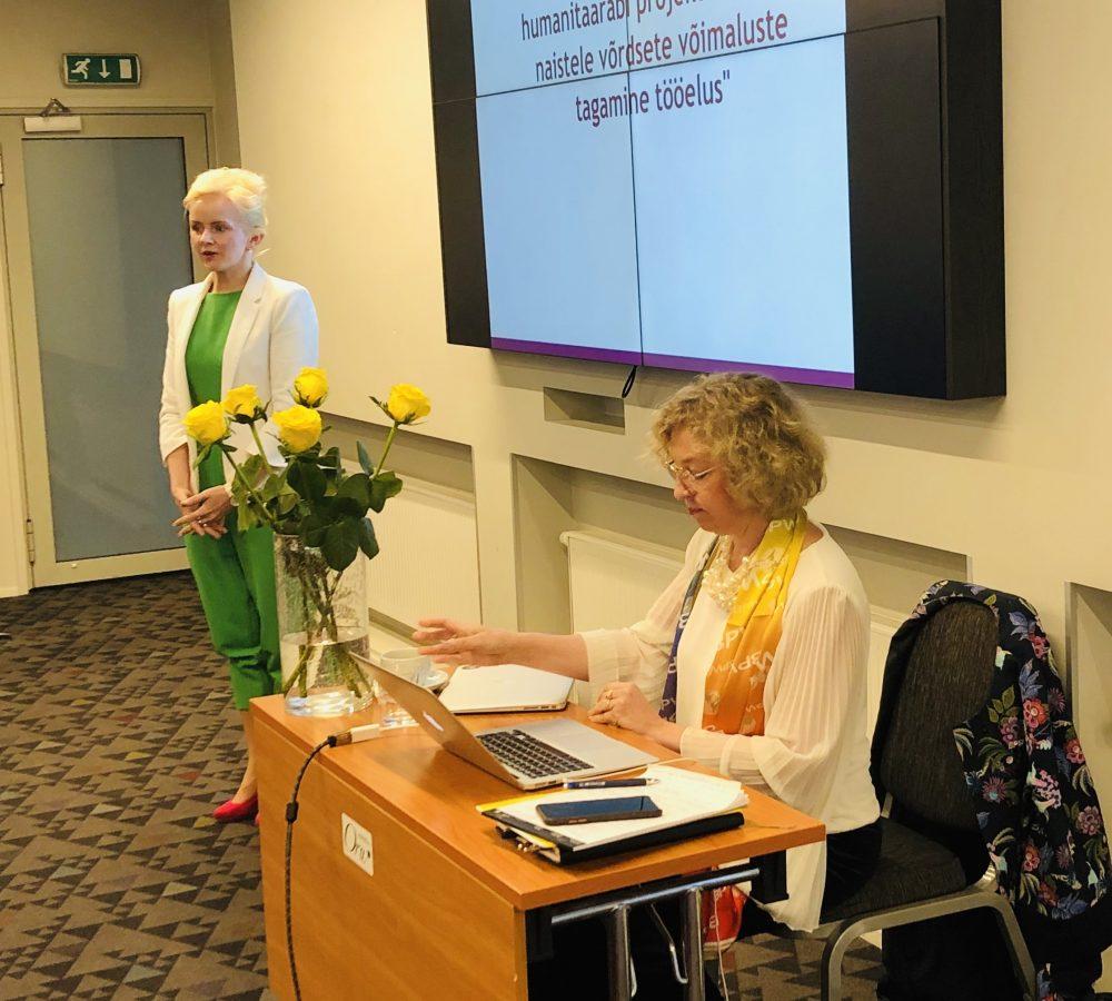 Ettevõtlikud naised aastakoosolek 2019