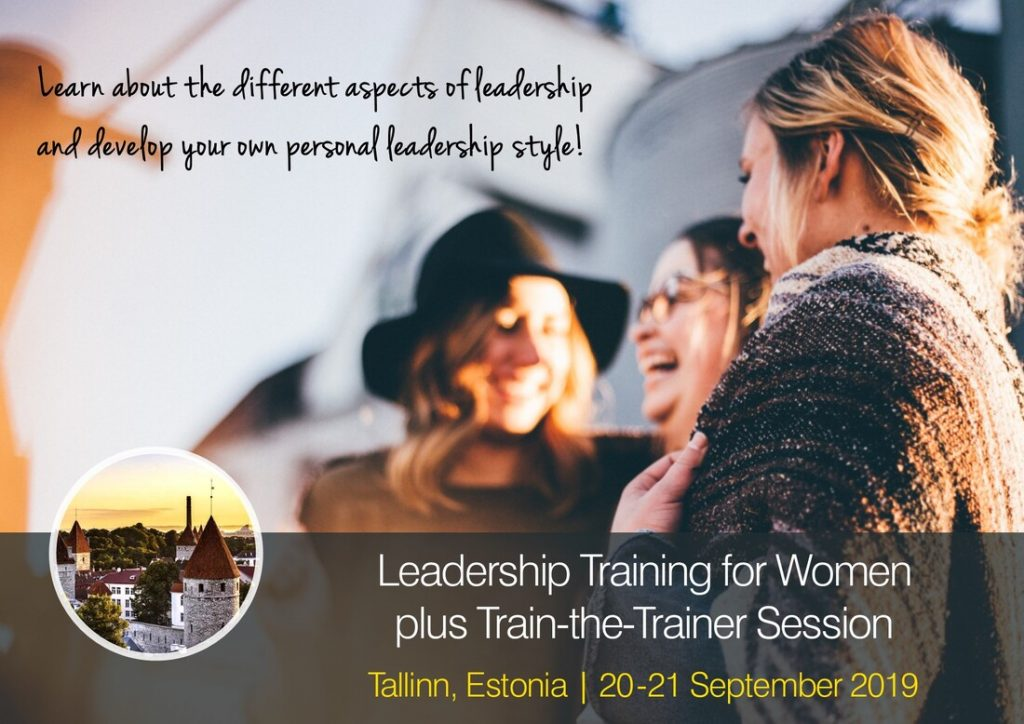 Leadership training for women