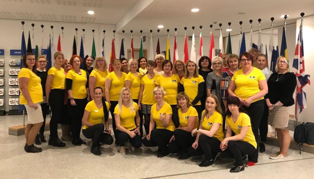 Eesti ettevõtlikud naised Brüsselis, Euroopa Parlamendis