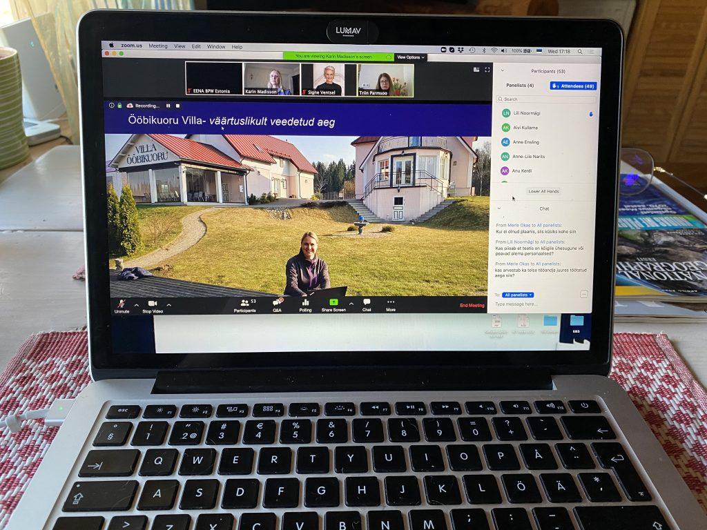 Jälgi infot EENA / BPW Estonia kodulehel ja Facebookis ning Naised Ettevõtluses Facebooki lehel.