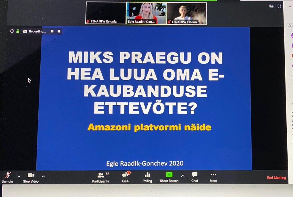 Miks praegu on hea luua oma e-kaubanduse ettevõte Amazoni näitel
