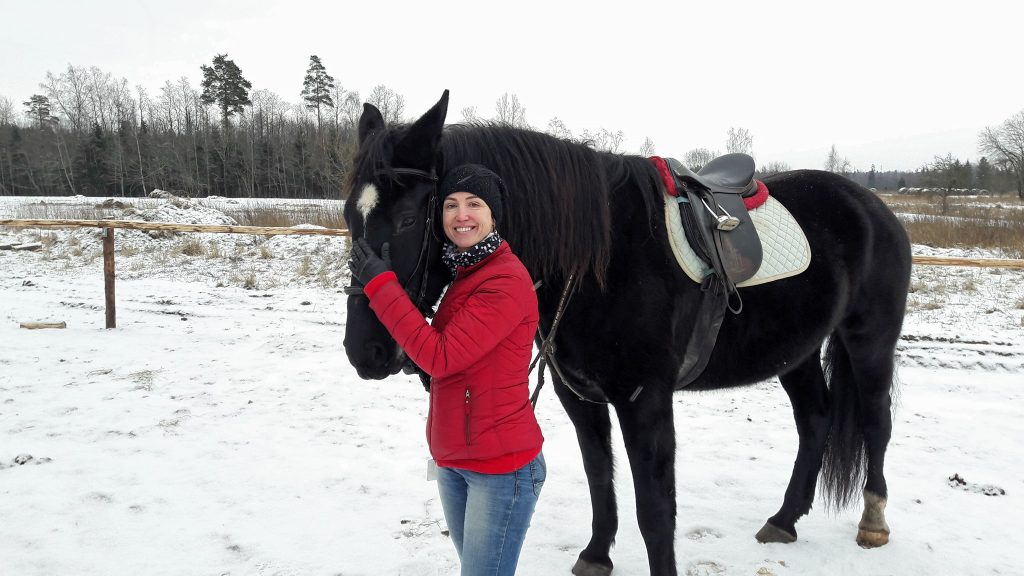 Katrin Kuntus, Pärnu klubi president hobusega