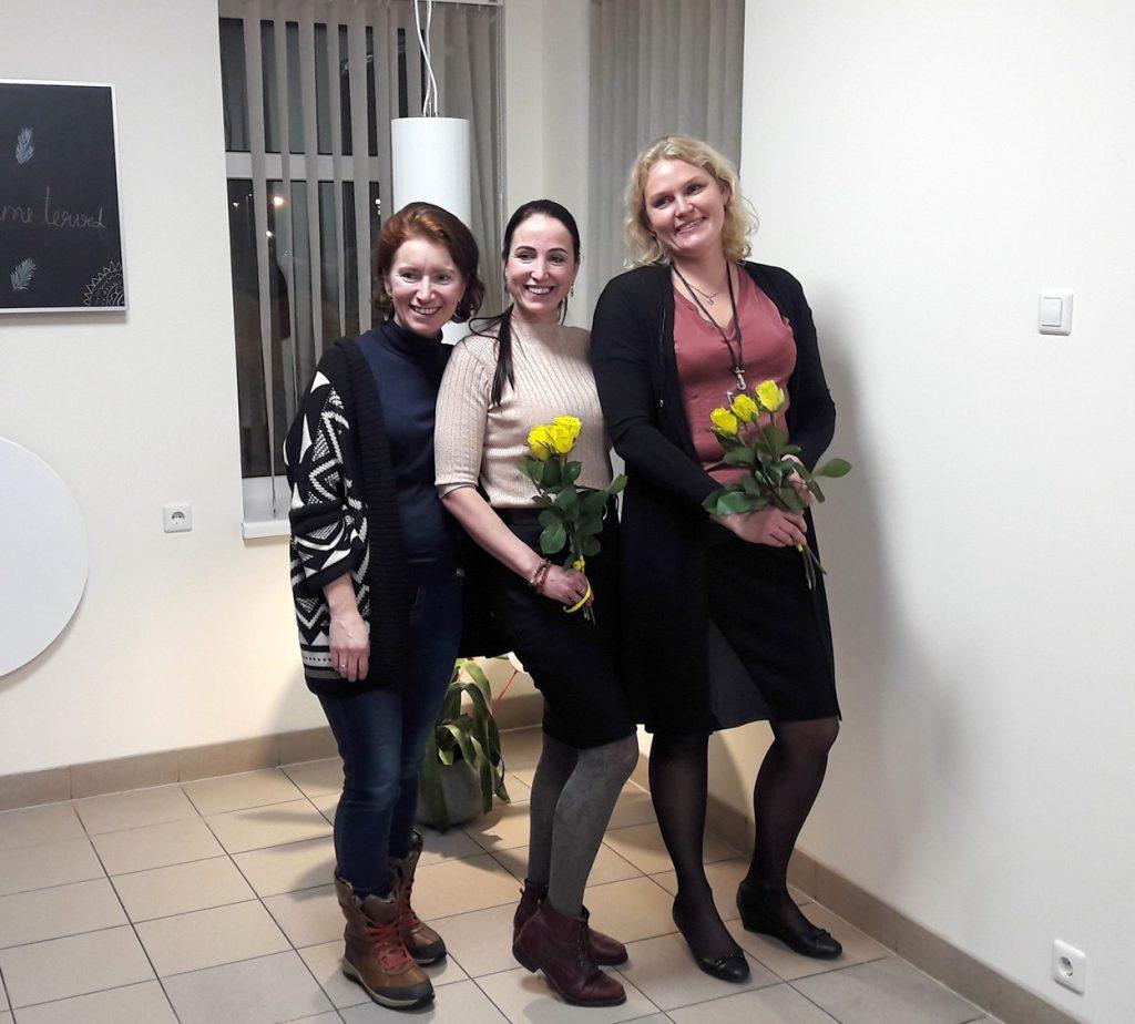 Pärnu klubi president ja juhatus
